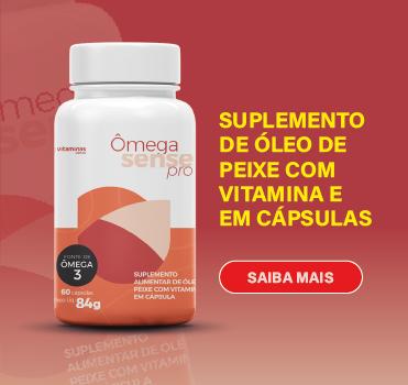 Suplemento de oleo de peixe com vitamina e em capsulas