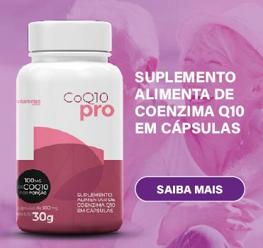 Suplemento de Coenzima Q10 e Oleo de Semente de Uva